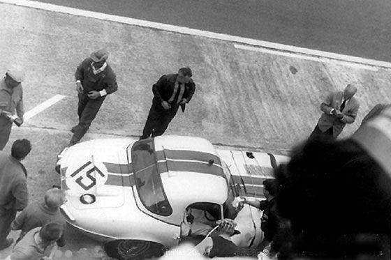 Le Mans 1963 Cunningham Jaguar  E Type