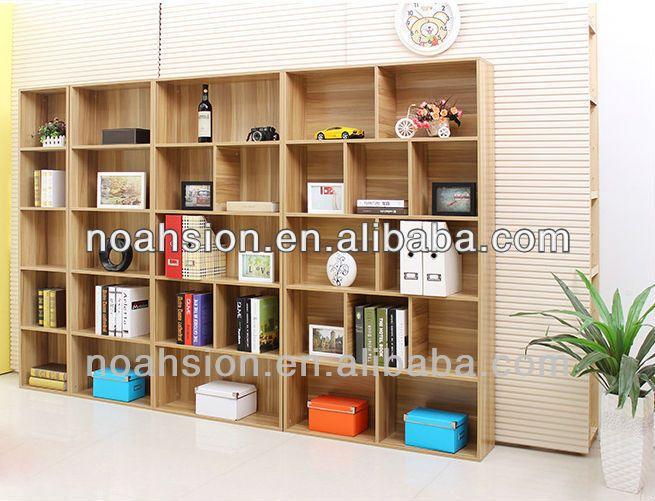 Madera Barata Pared Estanterías diseño Estantería - Buy Product on - muebles de pared