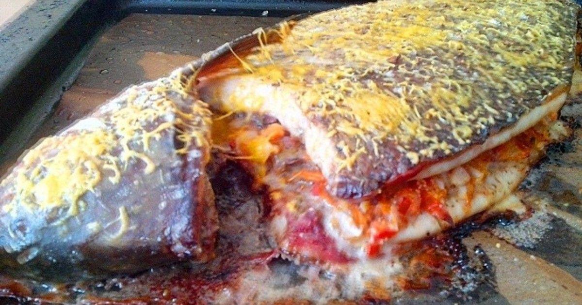 Фаршированный лещ в духовке | Рецепт | Идеи для блюд ...