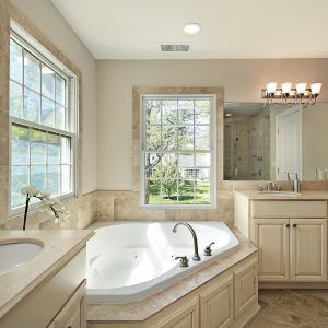 Beige And White Bathroom Decorating Ideas