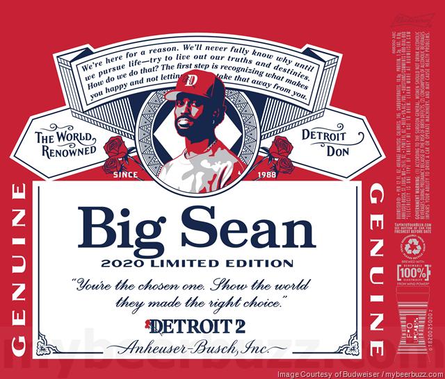 Budweiser Adding 2020 Limited Edition Big Sean Cans Budweiser Big Sean Oskar Blues