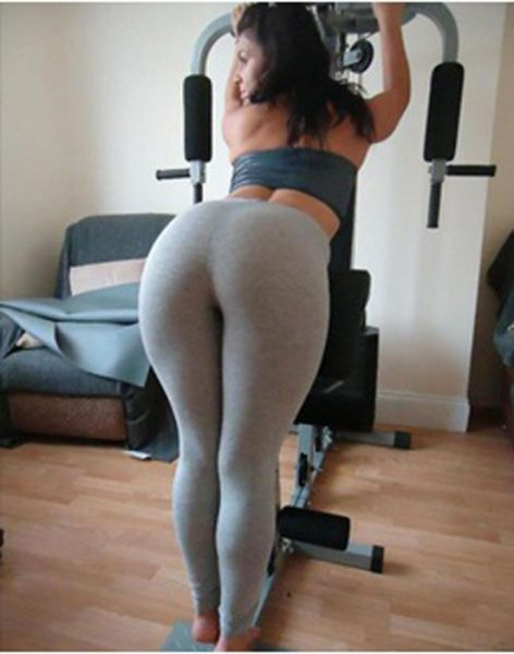 Sexy Yoga Pants Girl