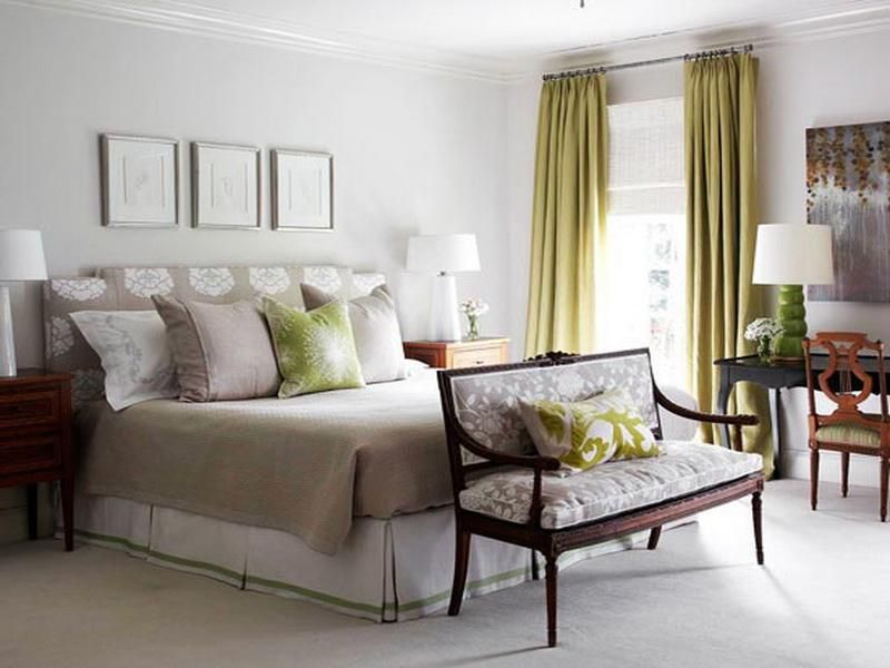 Best Green Grey Bedroom Ideas
