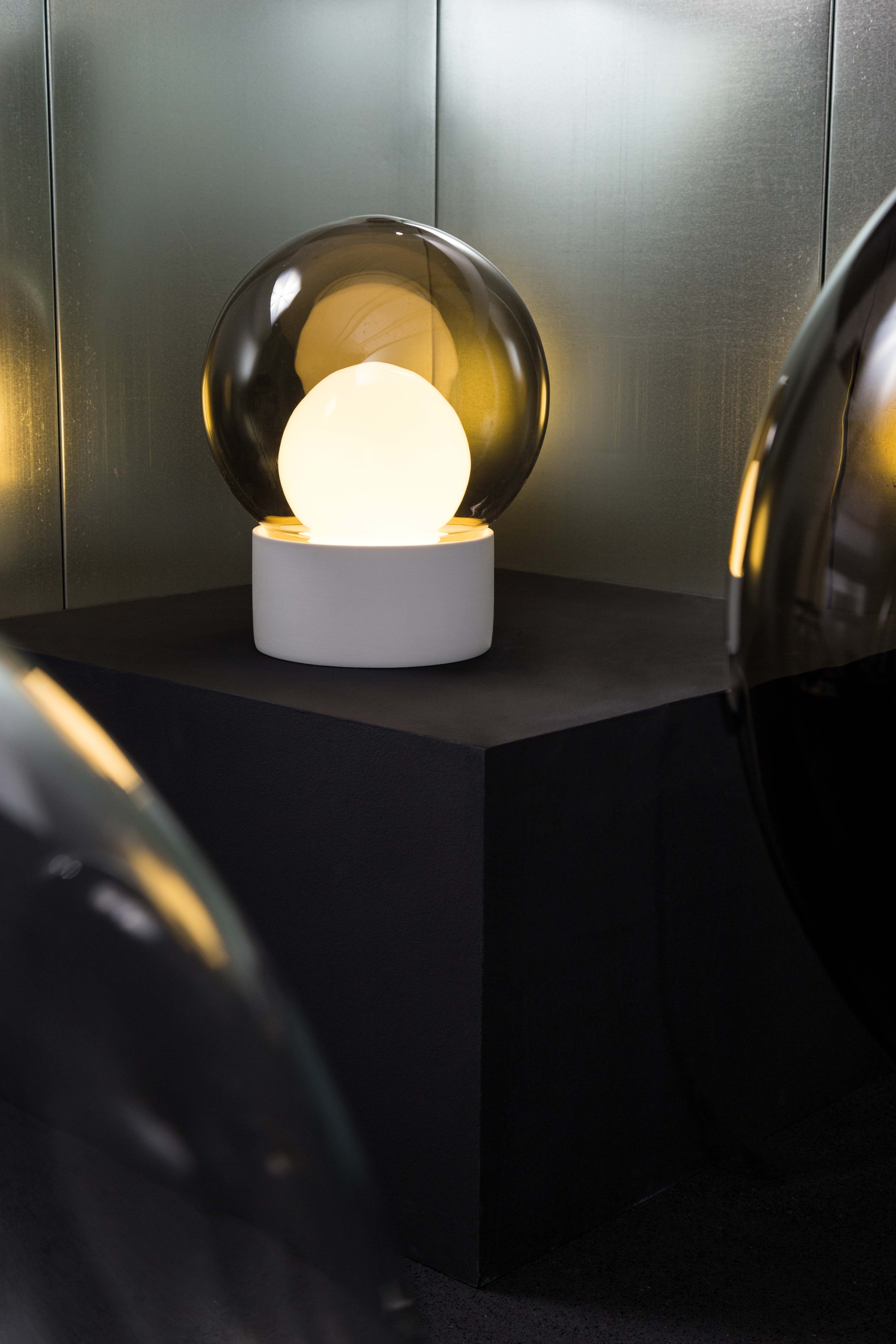 Boule By Sebastian Herkner Lamp Material Glass And Porcelain Pulpo Www Pulpoproducts Com Design Milk Light Lamp