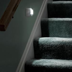 Mr. Beams, Outdoor Wireless Motion Sensing LED Step/Stair Light (2 Pack),  MB532 At The Home Depot   Mobile
