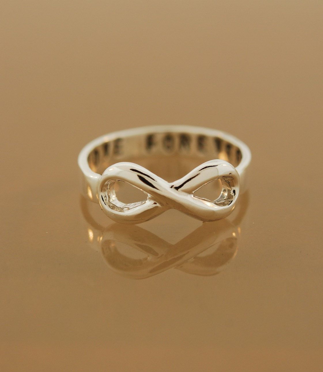 Sterling Silver Custom Infinity Ring Etsy 75 Rock Ables Rings