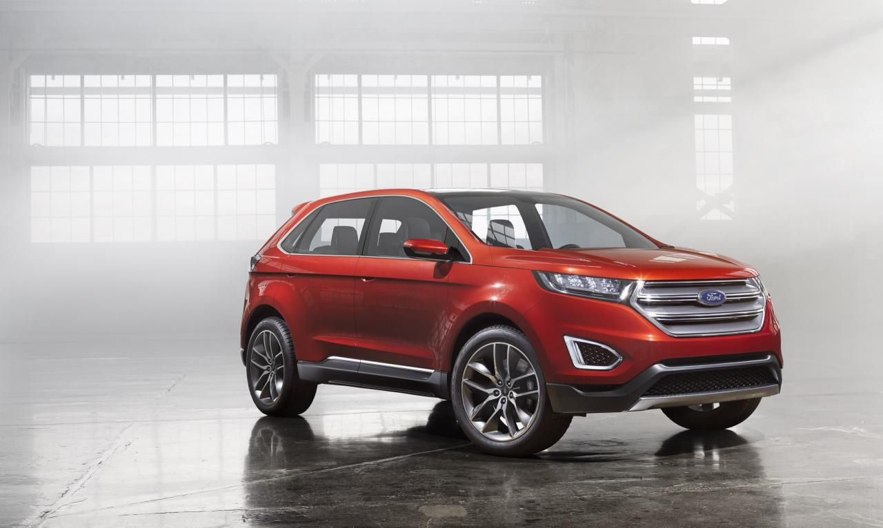 2013 Ford Edge Concept With Images Ford Edge Ford Edge Sport