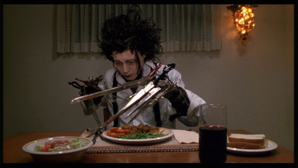 edward scissorhands dinner