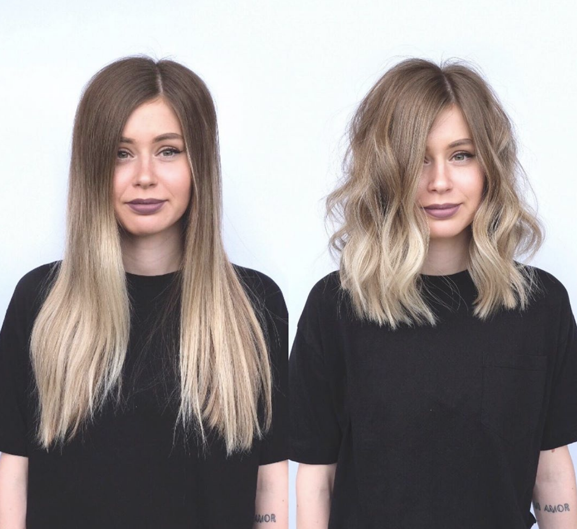 12 Different Haircuts (That Will Make You Chop Your Hair)  Long