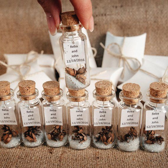 Elegant Wedding Favors Thank You Gifts For Guests Rustic