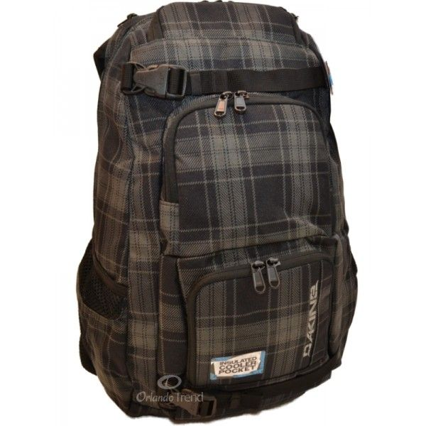Dakine Duel Pack Northwood Laptop Skateboard Backpack in Gray at ...
