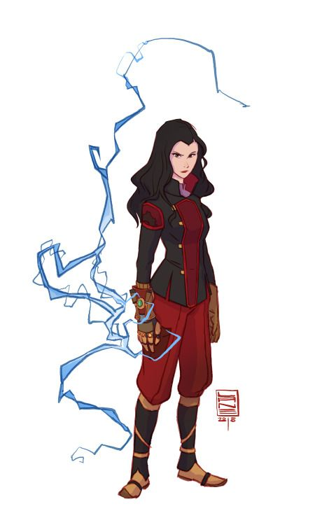 A little Asami fan art, by lane-garrison