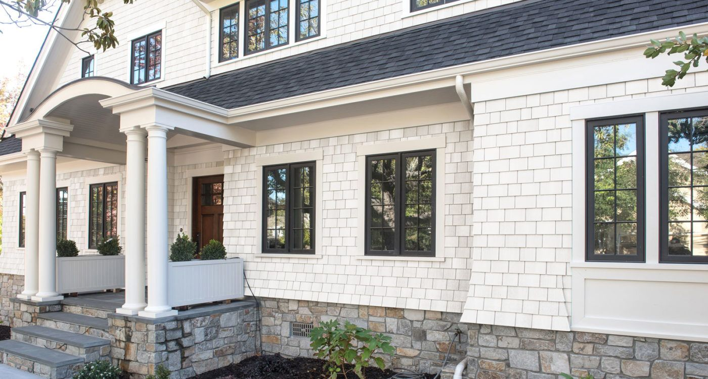 Super White | Shingle siding, Cedar homes, White siding