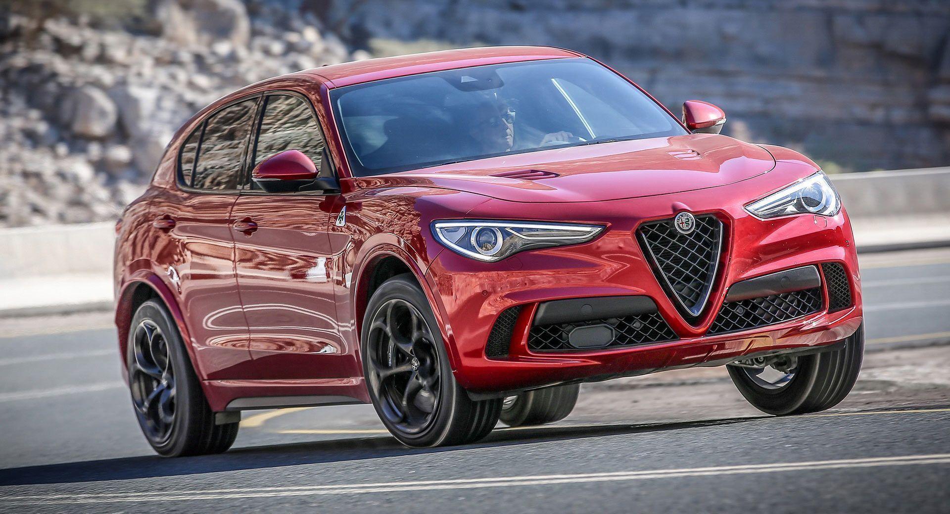 At 81 590 Alfa Romeo Stelvio Quadrifoglio Will Cost You A Bit More