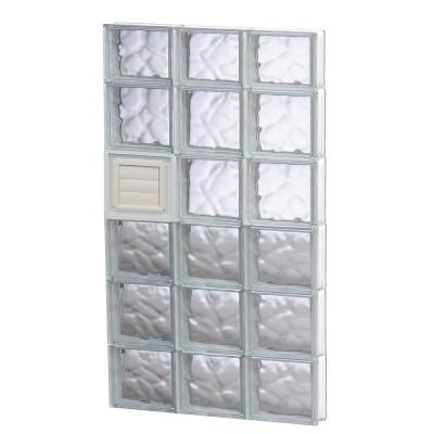 Clearly Secure 23 25 In X 44 5 In X 3 125 In Frameless Wave
