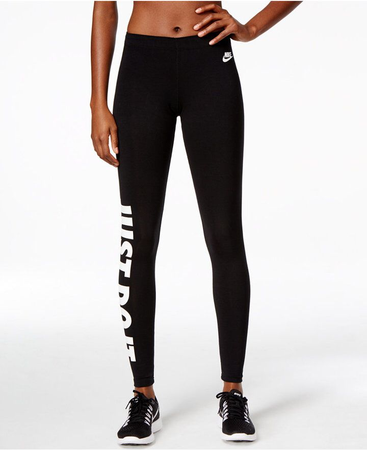 Nike Leg-a-See Just Do It Dri-fit Leggings, these look so comfy.