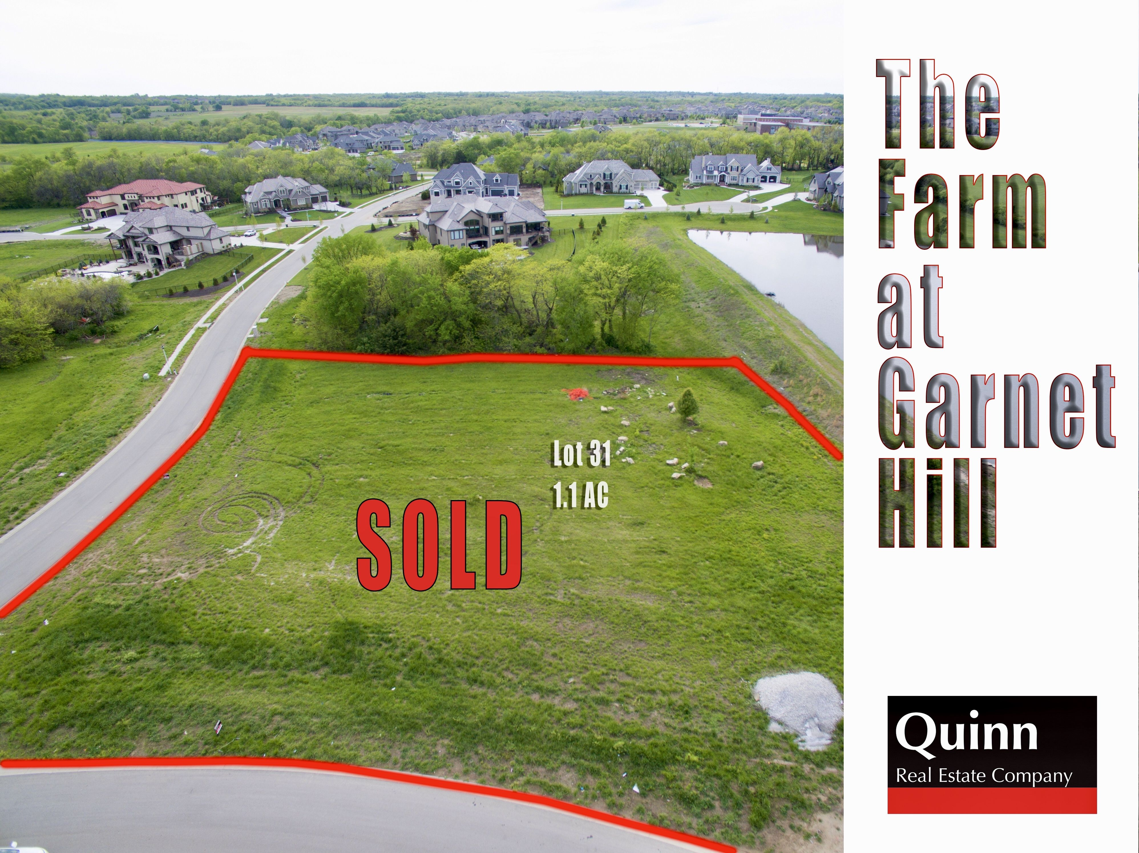 Just Sold This Beautiful 1 1 Acre Lot In The Farm At Garnet Hill Only 2 More Estate Lots Left In This Spectacular Overland Park Real Estate Overland Park Ks