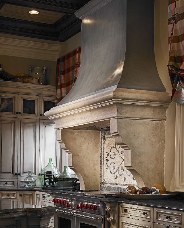 Charming Country Kitchen Decorations With Italian Style: That's What I Call A Furnace! With Such A Distinguished