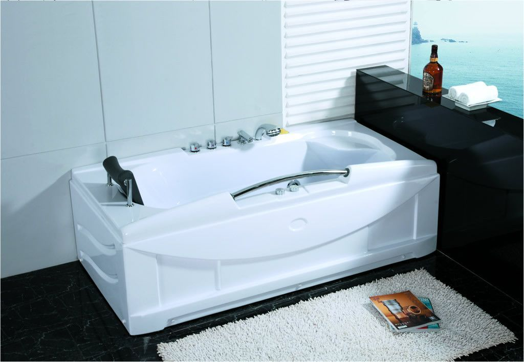 1 Person Whirlpool Massage Hydrotherapy Bathtub Tub Indoor 001A ...