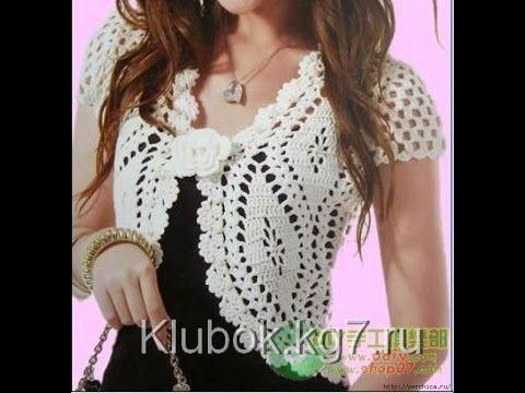 Crochet Shrug Free Crochet Patterns346 Youtube Boleros En