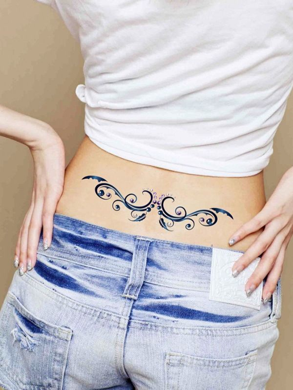 Waist Tattoos Only For Girls Lower Back Tattoo Designs Back