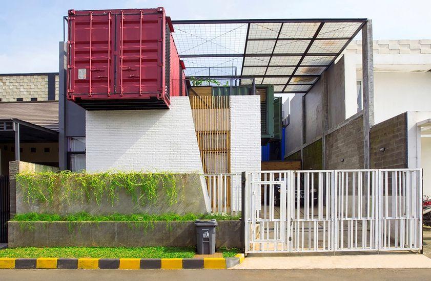 Charmante Maison Container Urbaine Au Design Contemporain En