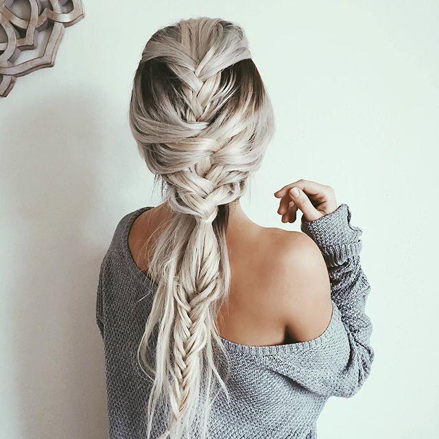 Curled hair with braid tumblr : Pinterest: blessingleota ♛☯ Instagram: faapaialeota Snapchat