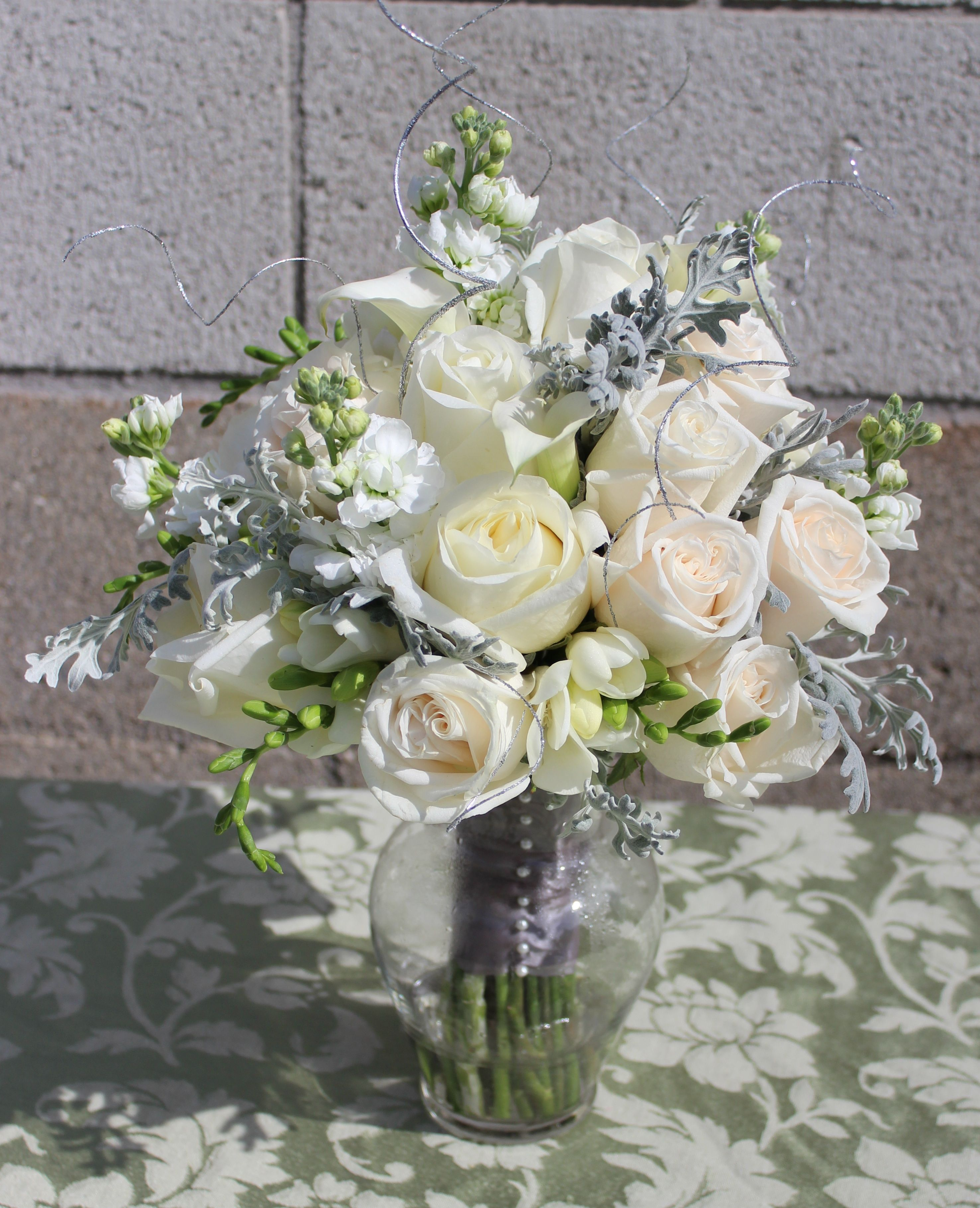 White And Silver Bouquet 2950x3636