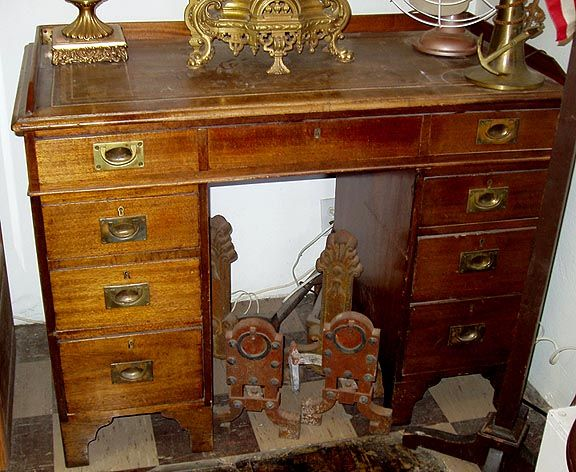 This Ship Captains Desk Is Over 200 Years Old It Comes Apart So Could