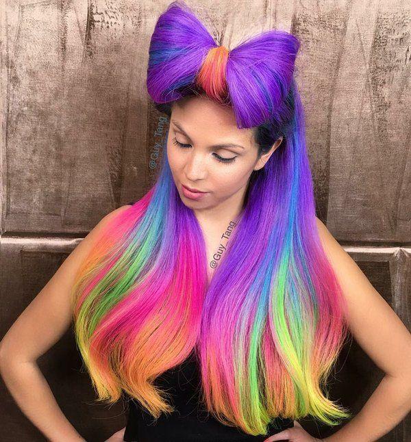 guy tang on rainbow hair guy tang and hair coloring