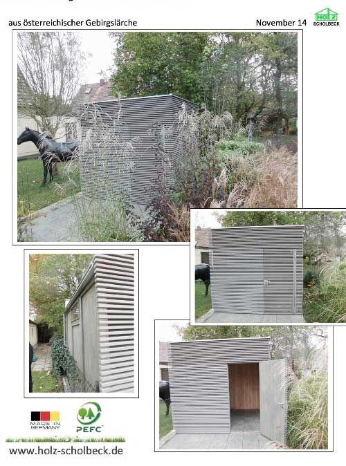 Perfect Geniesser Garten Gartenhaus Ger teschuppen Radlhaus Schuppen Laube