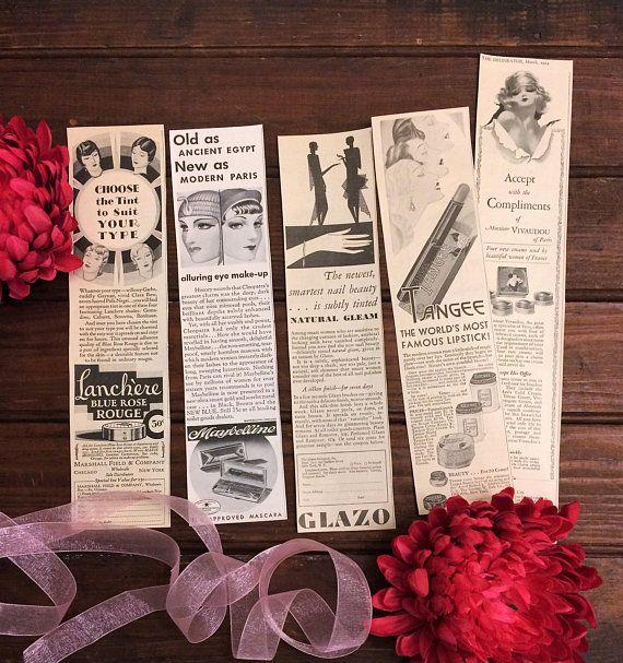1920s Beauty Make Up Advertisements, Art Deco Magazine Ads, Pretty Lady, Flappers, Vintage Antique C