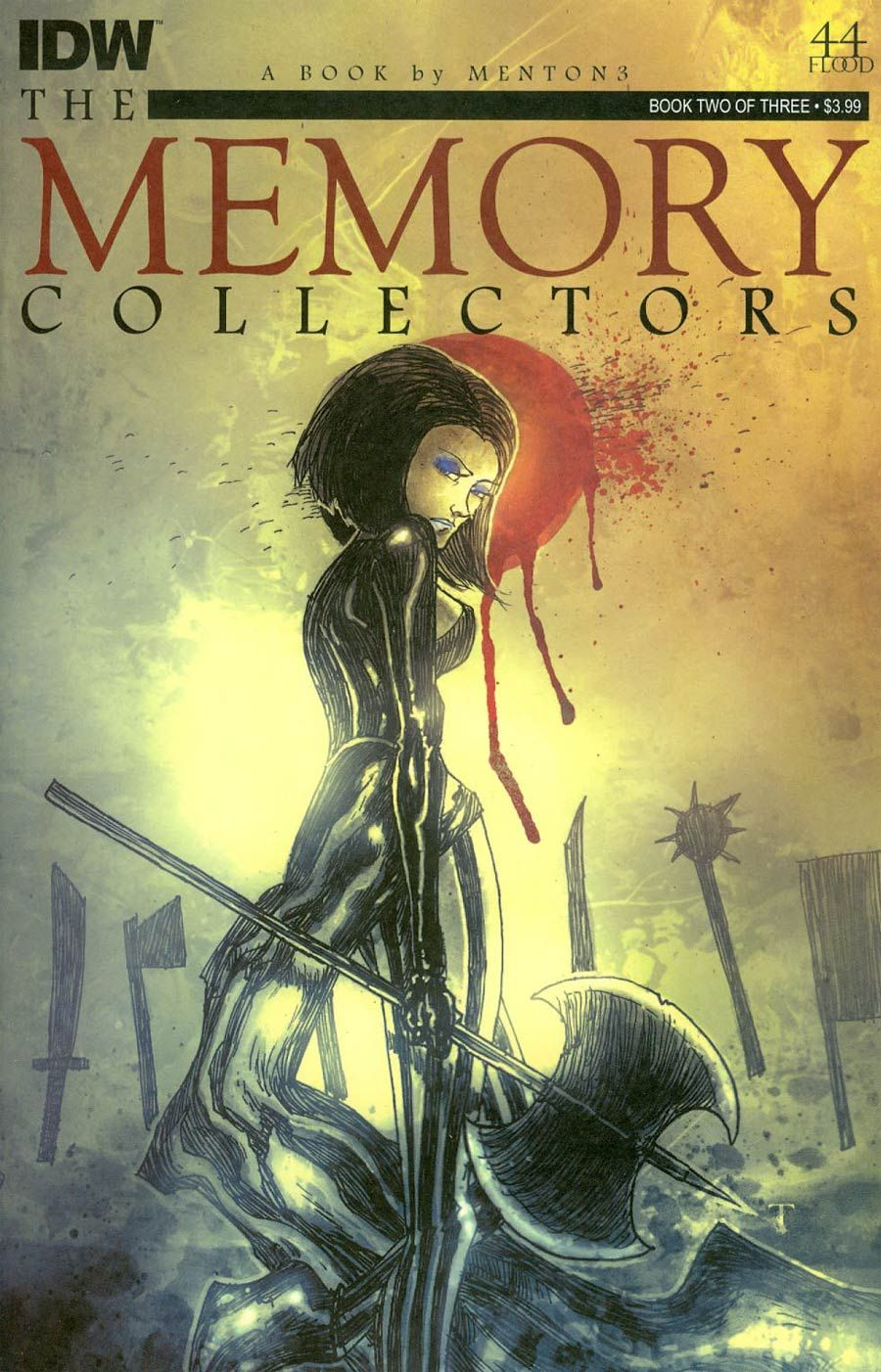 Memory Collectors #2 Cover B Variant Ben Templesmith Subscription Cover
