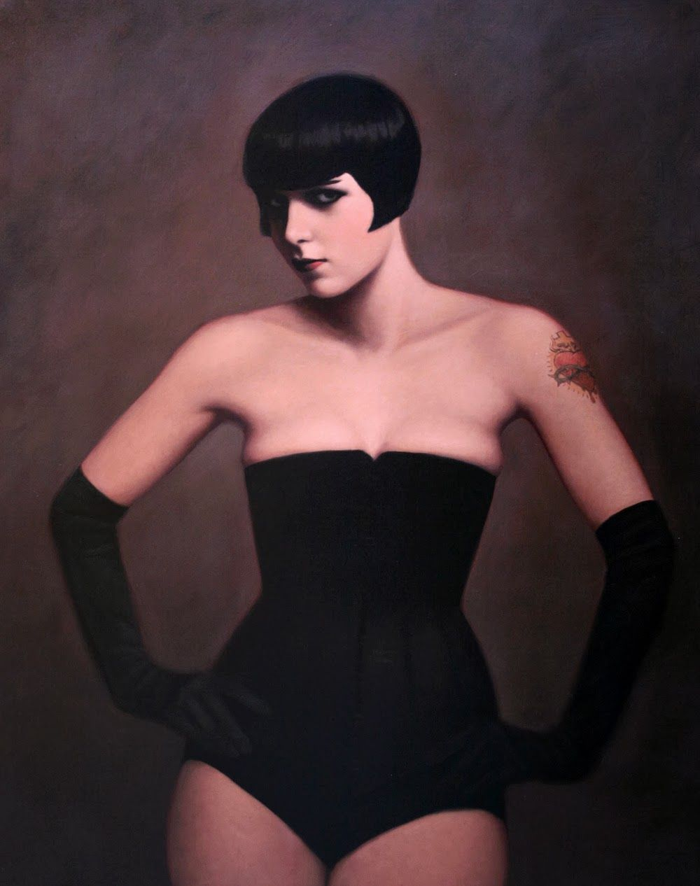 La Belle Illustration: François Roca, Louise Brooks