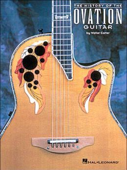 The History Of The Ovation Guitar By Walter Carter Ovation Guitar Guitar Books Guitar