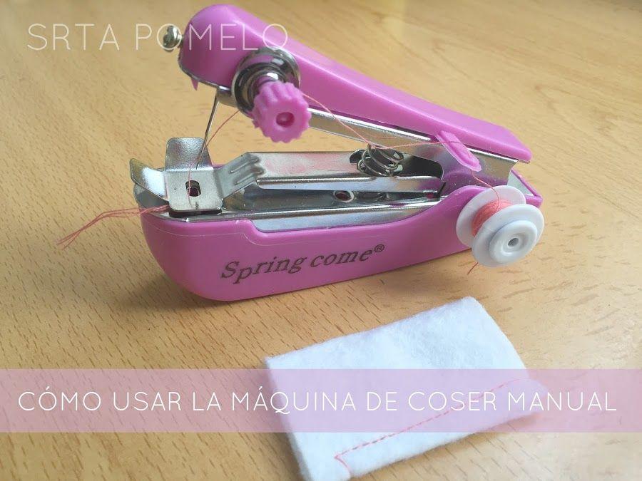 Cómo Usar La Máquina De Coser Manual Maquina De Coser Portatil Maquina De Coser Cubiertas Para Máquina De Coser