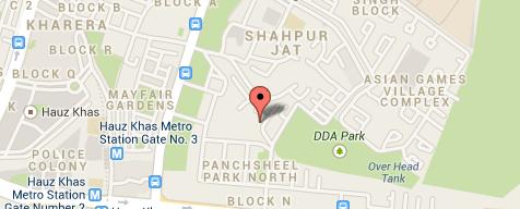 Map Of The Business Location Pavitrajyotish Pavitrajyotish Astrology Horoscope