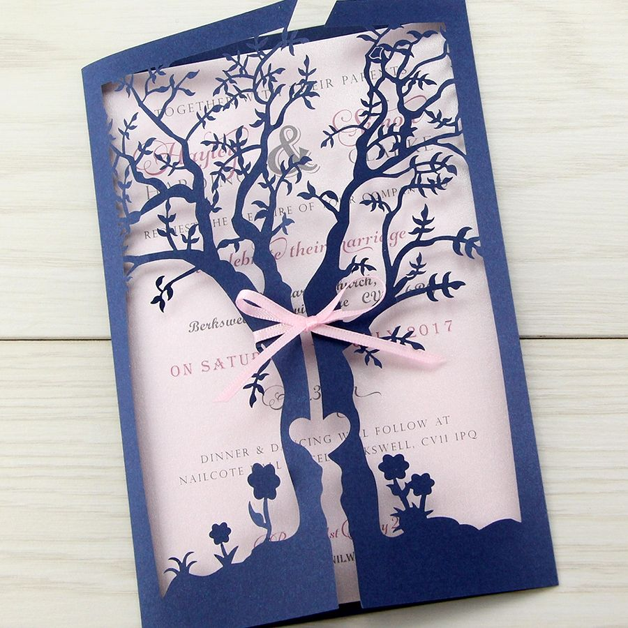 When Should Wedding Invitations Be Ordered: Laurel Tree Order Of Service - No Ribbon