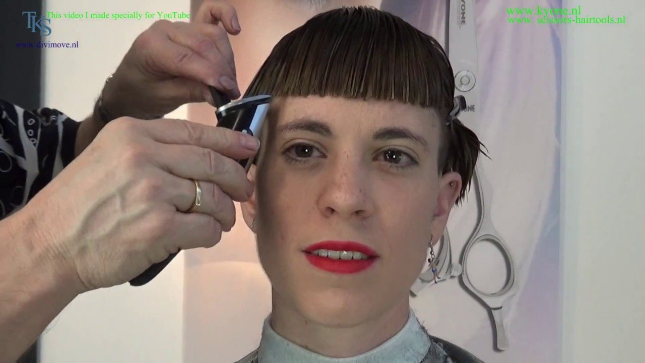 My bowl cut is on fire chantalus bowl cut tutorial with hair