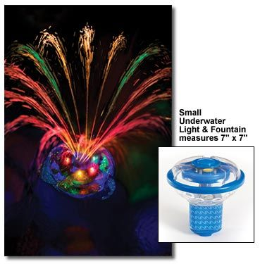 Underwater Light Show And Fountain Floating Pool Lights