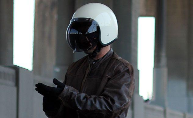 Biltwell Bonanza Helmet Smoked Shield