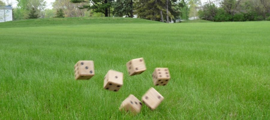 Yard Games: Get The Rules To Many Dice Games You Can Play Outdoors .. Big  BackyardBackyard ...