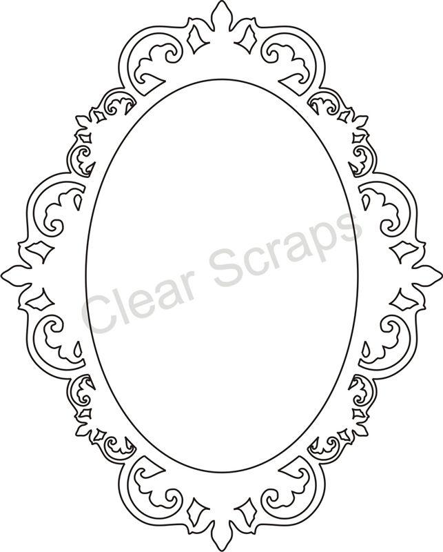 Resultado de imagen para marco de espejo antiguo dibujo for Pintar marco espejo