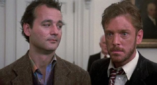 Pete Venkman and Walter Peck | Ghostbusters, Great movies, Ghostbusters 1984