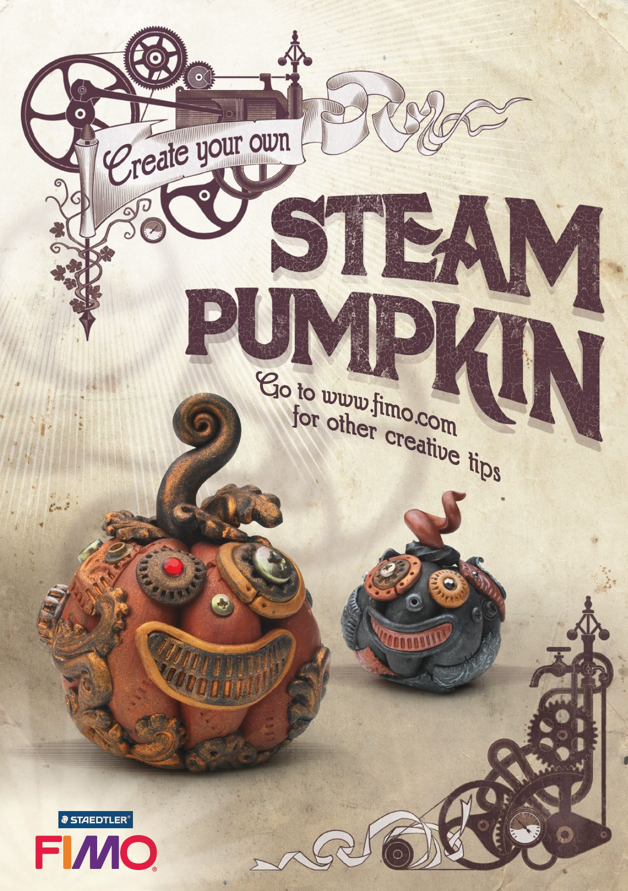 Make Your Own Steam Pumpkin This Hallowe En Made From