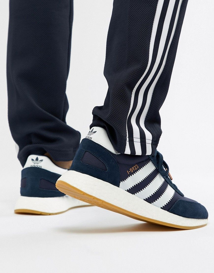 79f580ec9 ADIDAS ORIGINALS I-5923 RUNNER SNEAKERS IN NAVY BB2092 - NAVY.  #adidasoriginals #shoes #