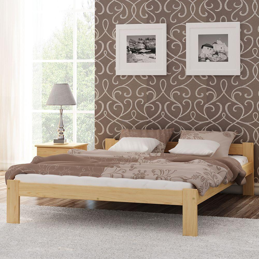 Holzbett #Lattenrost #Massivholz #Holz #Kiefer #Einzelbett ...