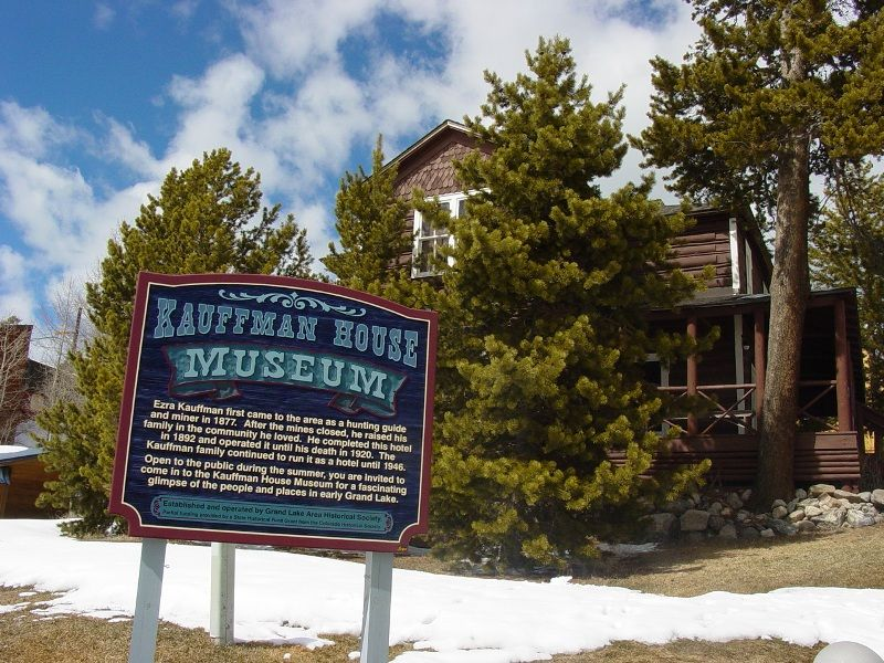 The Kauffman House Museum Old Hotel In Grand Lake Colorado Will Be Open