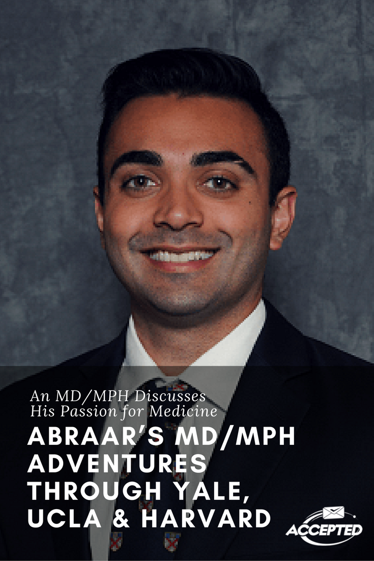Introducing Abraar Karan Md Candidate At Ucla Future Mph Candidate At Harvard Medschool Med School Student How To Memorize Things Medical School