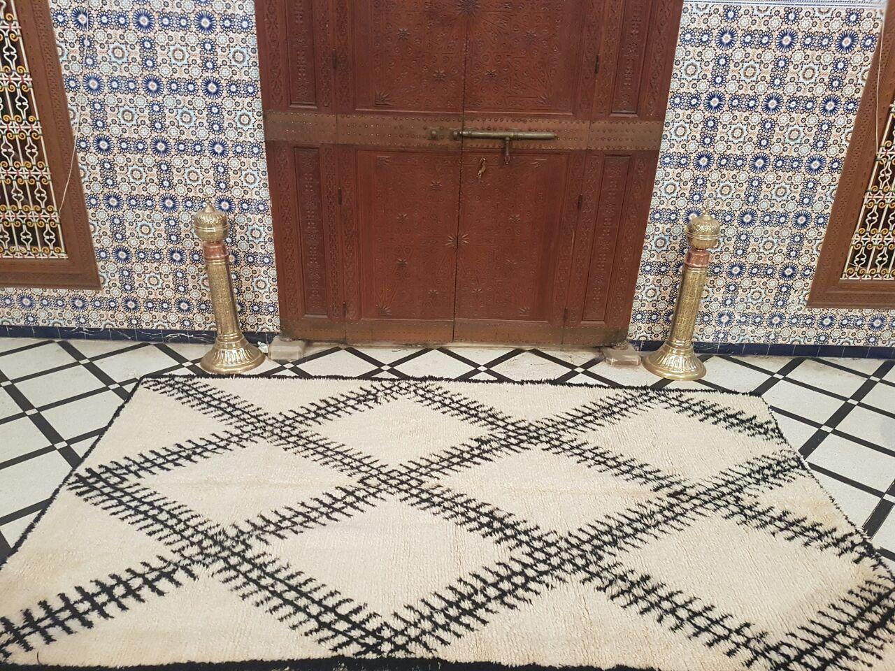 Reductions 50 Authentic Moroccan Carpet Tapis De Sol Tapis